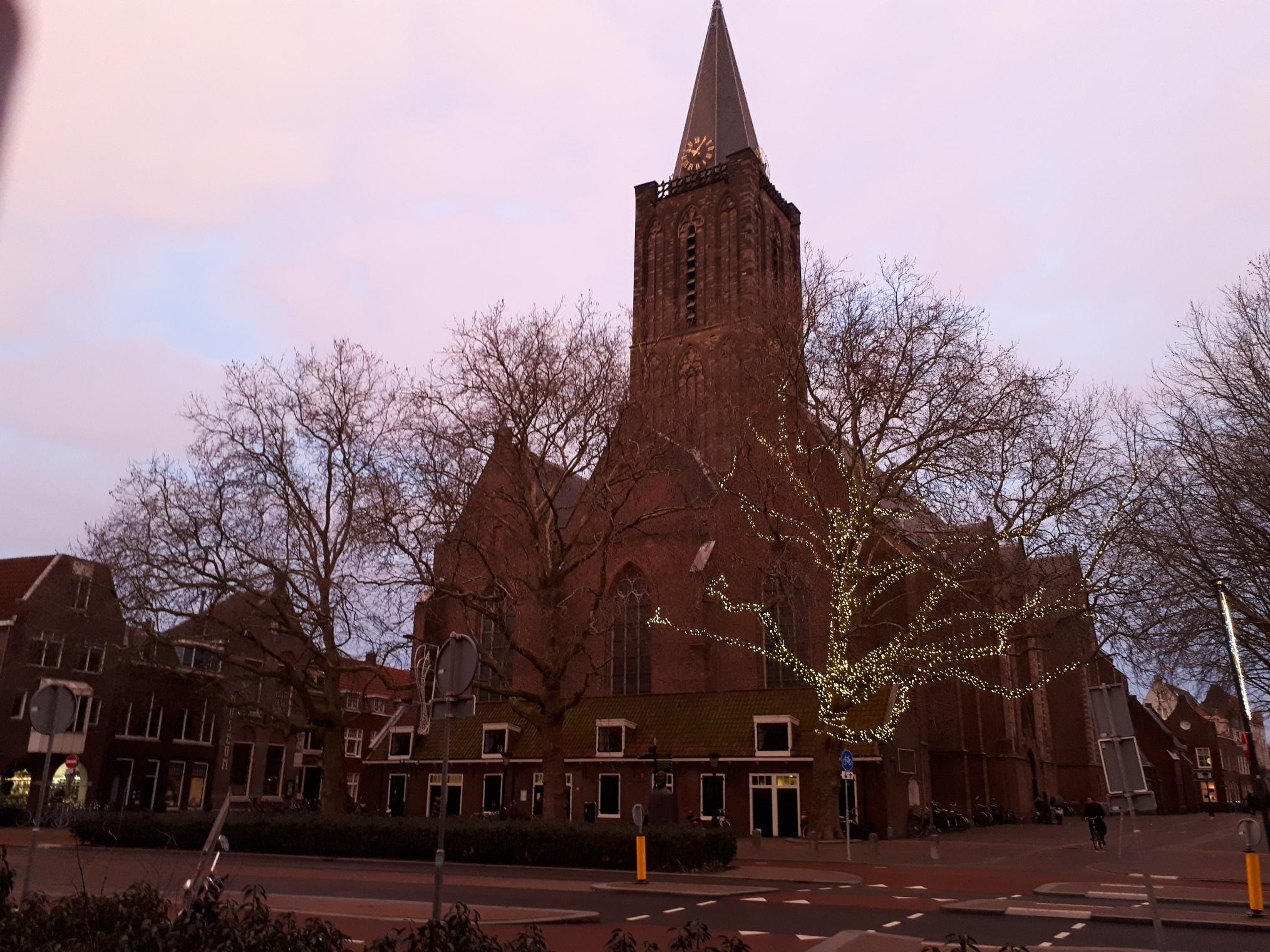 Jacobuskerk op 22 januari