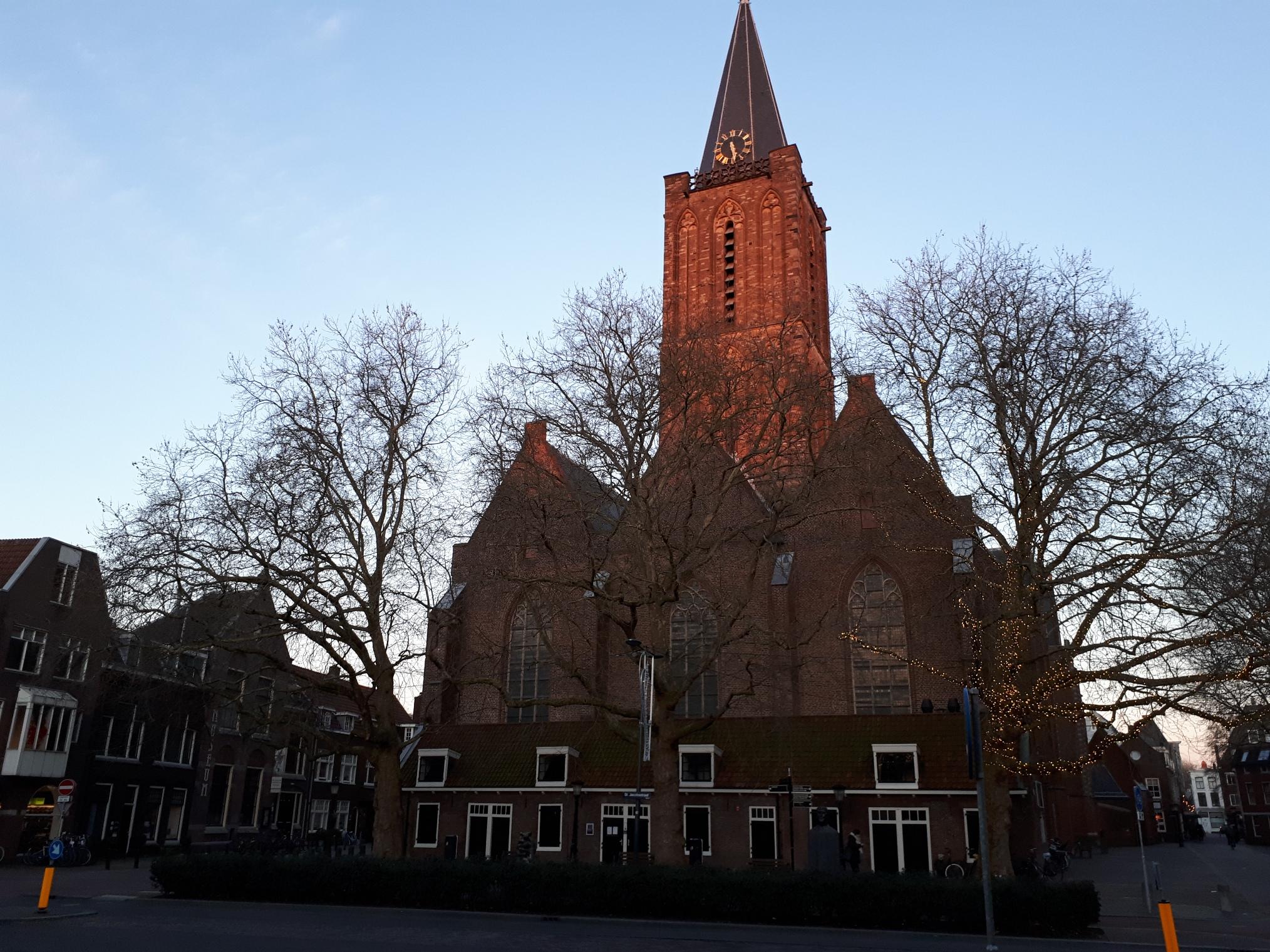 Jacobuskerk op 6 februari