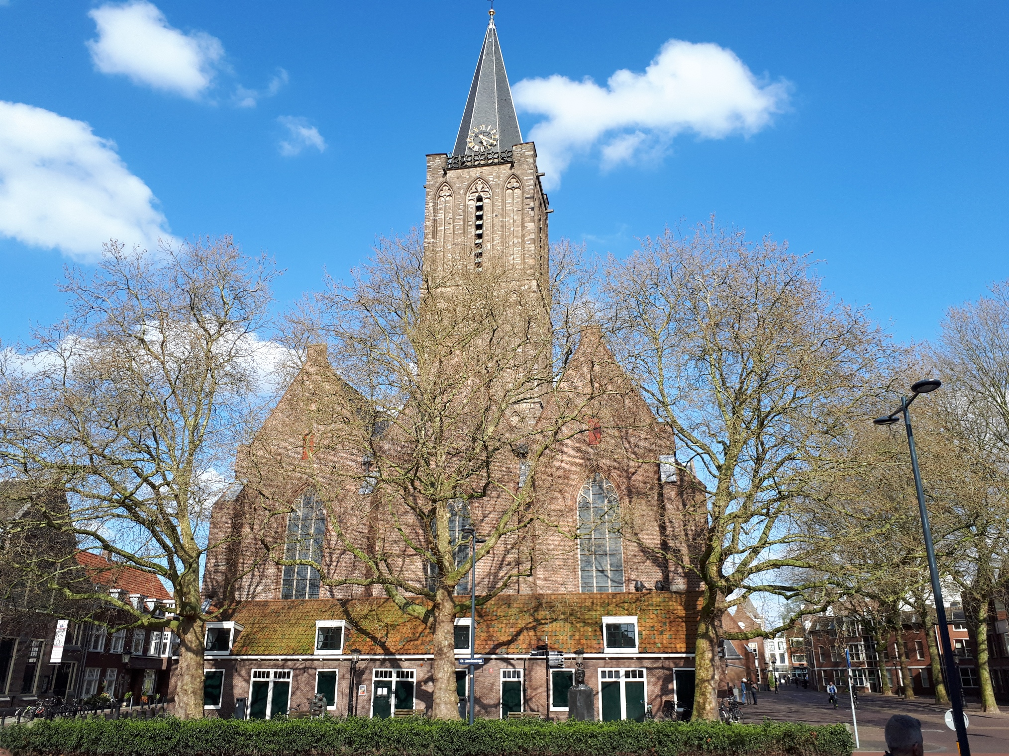 Jacobuskerk op 16 april