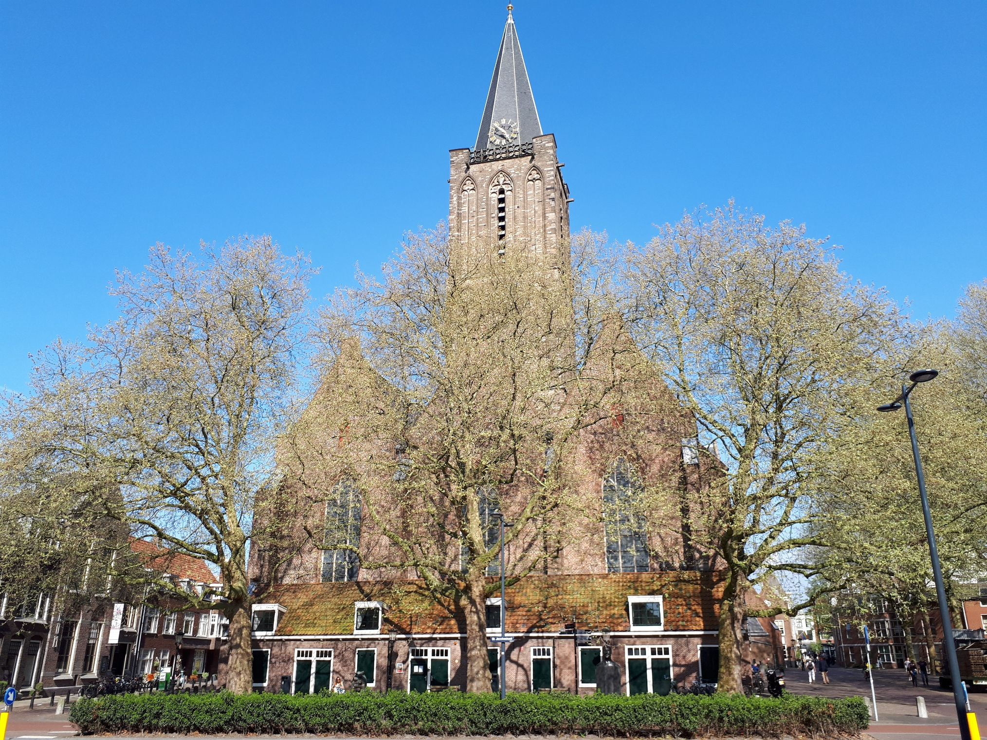Jacobuskerk op 20 april