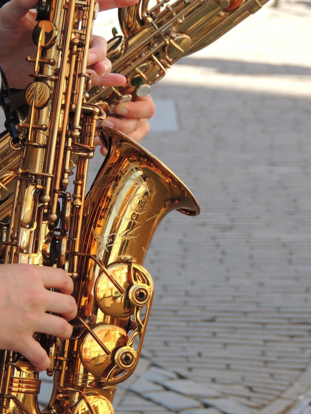 Details van saxofoon