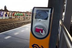 Vandalisme op station Zuilen