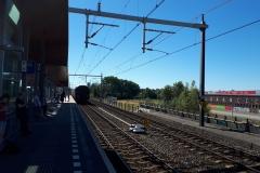 Druk op spoor