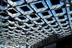 Dak van station Den Haag CS