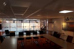 Interieur vergaderzaal Paride Taban