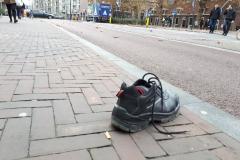 Schoen op straat