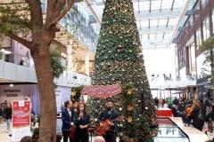 Muziek in kerstsfeer in HC Stadskamer