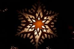 Kersster voor raam