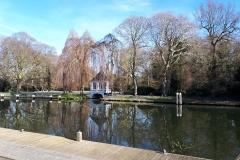 Huisje bij Rijnhuizerbrug te Jutphaas
