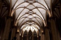 Interieur van Sint-Nicolaasbasiliek te IJsselstein