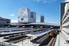 Station Utrecht vanaf loopbrug