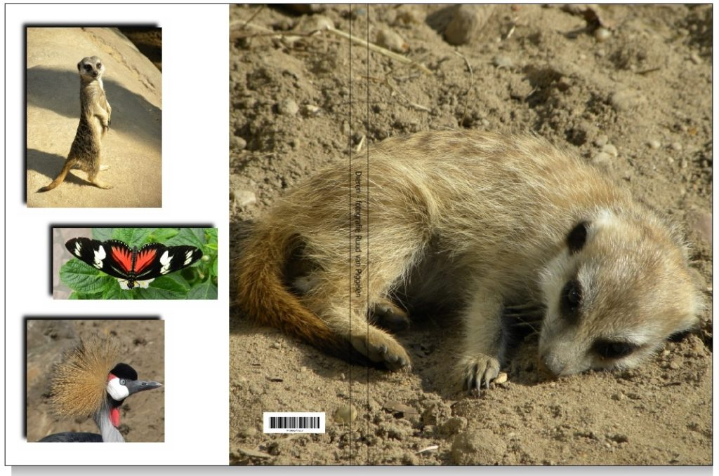 Impressie fotoboek dieren