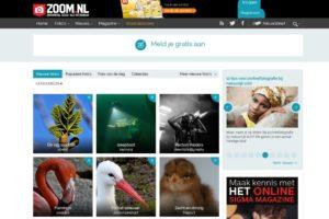 Website zoom.nl