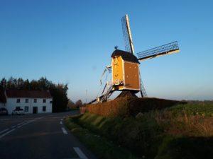 St. Hubertus molen Klein Genhout bij Beek